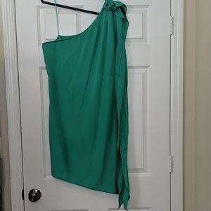 Gorgeous Jessica Simpson One Shoulder Dress